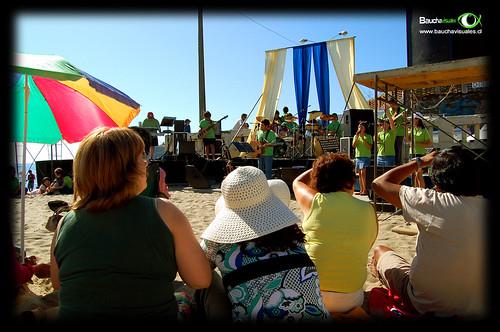 Evangelismo Playa el Morro de Tomé