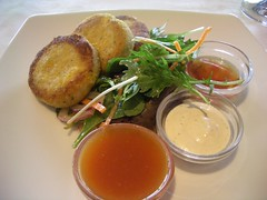 Smoked Cod, Crab & Corn Cakes@High Tide