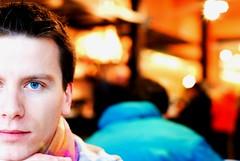 Come il sole a mezzogiorno (bogob.photography) Tags: blue friends portrait people man male face fun person 50mm interesting eyes nikon europa europe gente blu favorites corso persone occhi most fotografia nikkor f18 azzurro ritratto portarit 50mmf18 nikon50mmf18 subalpina d80 peoplesfavorites personafriend