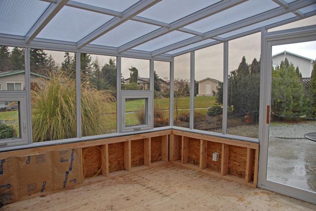 Sunroom construction 11