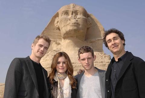 Jumper Hayden Christensen y Rachel Bilson en Egipto