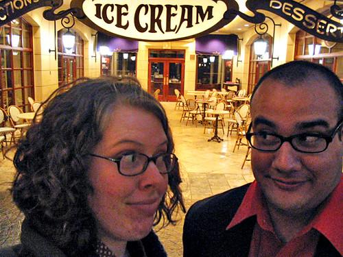 avant-garde ice cream