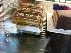 Opera Cakes at Ken's Artisan Bakery, Portland OR