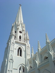 Santhome Church - Chennai, India (rijuj) Tags: india chennai santhomechurch