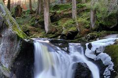 glacial mill (crazyhorse_mk) Tags: water rock creek forest river landscape waterfall natur glacier valley schwarzwald blackforest 400d gletschermühle kraiwooggumpen glacialmill klaiber schwarzenbaechle