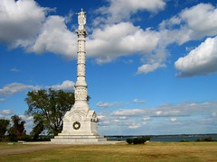 Victory Monument - Yorktown (smokejmt) Tags: sky history monument clouds virginia memorial colonial historic williamsburg colonialwilliamsburg yorktown 5photosaday ashotadayorso favouritecapture