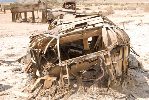 Collapsed structure near the Salton Sea