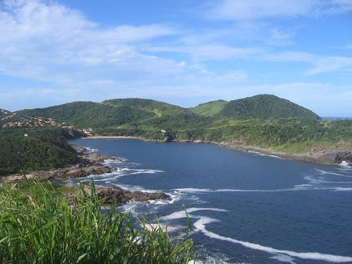 Vista desde Ponta da Lagoinha, Búzios por rodney j.