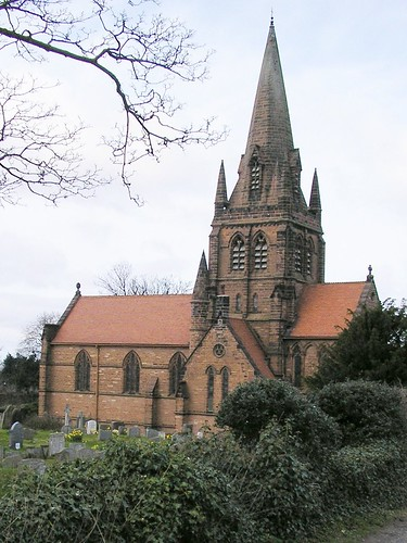 St Bartholomew's Church - red sandstone