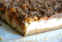 Apple Cheesecake Bars.