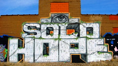 SOLO HOPE (The Joy Of The Mundane) Tags: streetart art graffiti paint painted minneapolis solo spraypaint bombshelter spraypainted minneapolisstreetart thebombshelter