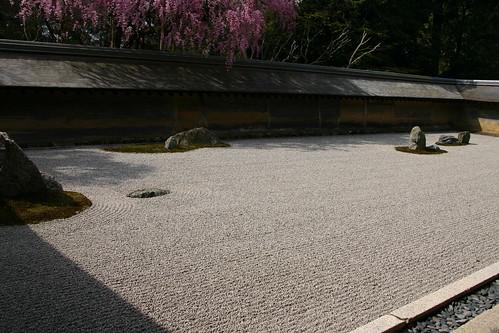 Ryoan-ji, a Zen dry garden