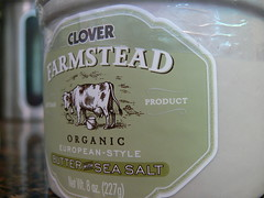New, high-end Clover butter