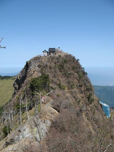 shrine on Ishizuchi-san summit