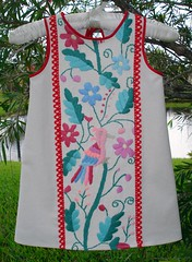 Folk Bird Dress