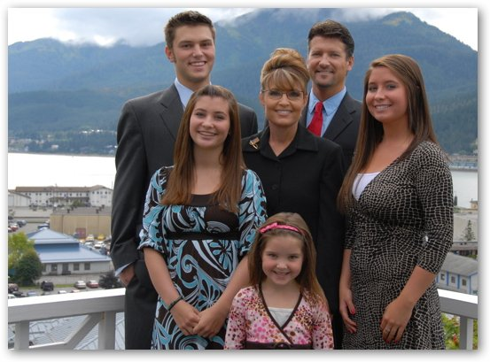 Sarah Palin with Family