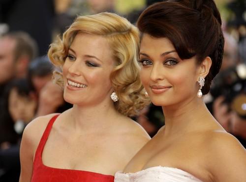 Photo of Elizabeth Banks and Aishwarya Rai