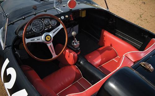 Black 1957 Ferrari Testa Rossa