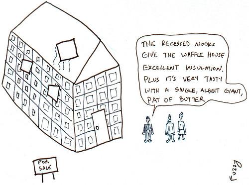 366 Cartoons - 094 - Waffle House