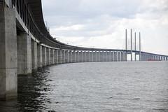 (onegreenbean) Tags: bridge architecture öresundsbron öresundsbridge