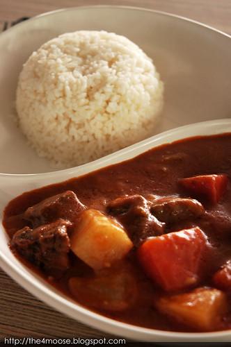 Mushroom Café - Beef Stew