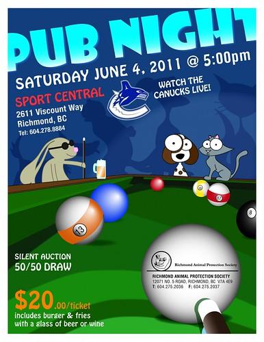 RAPS June 4 2011 Pub Night 5pm
