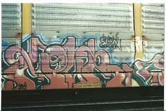 HOUR (BGIZL) Tags: art graffiti trains hour pigs autoracks