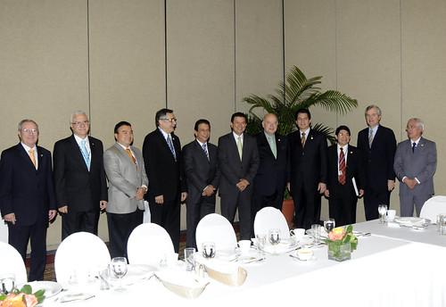 Secretario General de la OEA se reune con países de Centroamérica
