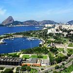 Aterro - Rio de Janeiro - Brasil -  Pão de Açúcar - Corcovado Rio+20