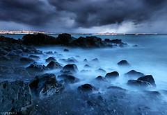 Stormy Coast (orvaratli) Tags: ocean travel sea seascape storm landscape coast iceland hafnarfjörður icelandic blueribbonwinner álftanes specland perfectcapture mywinners theunforgettablepictures theperfectphotographer arcticphoto örvaratli orvaratli