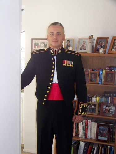 Usmc mess dress uniform, free pic spank
