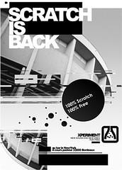 Print/ Scratch is Back recto ([GW] GrafikWar) Tags: poster design experimentation graphique grafikwar