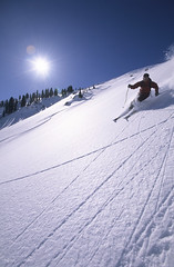 Bluebird Day (Jackson Hole Central Reservations) Tags: skiing jacksonholewyoming