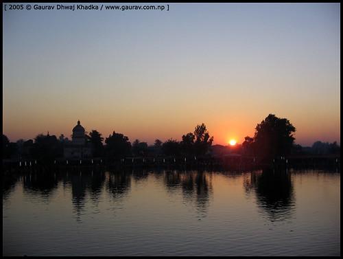 Chhath Pooja by Gaurav Dhwaj Khadka