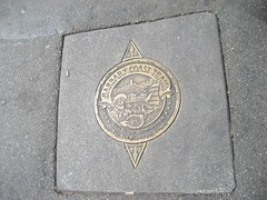 Barbary Coast Trail Marker