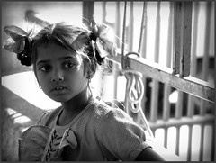A little girl from Dhobighat (Sukanto Debnath) Tags: portrait bw india white girl child balck hyderabad begger dhobighat mywinners abigfave anawesomeshot ysplix sukantodebnath niosydetalles