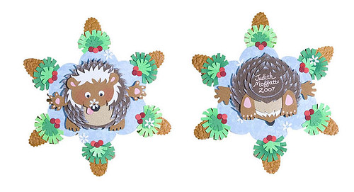 "Hedgehog's First Snow"" by Judith Moffatt"