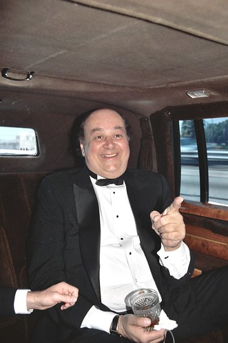 Shel Dorf in the limousine on the way to the 1988 Academy Awards