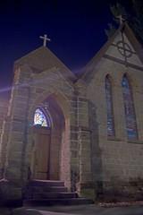 Church at Night HDR (bhphotoworld) Tags: night lowlight hdr rapidcity 4exp
