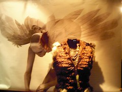 mi boutique (ranokkina) Tags: fashion angel luces wings ballerina display fantasy alas vetrina apparel escaparate aparador vitrina
