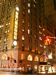 The Benjamin  125 East 50th St. at Lexington Ave. (Jim Lambert) Tags: nyc newyorkcity usa signs ny newyork architecture buildings us unitedstates manhattan midtown nighttime hotels lex lexingtonave lexingtonavenue midtownmanhattan benjaminhotel lightedsigns thebenjamin e50thst december122007 thebenjaminhotel east50thstreet 12122007 e50thstreet