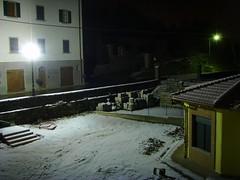 Primi fiocchi di Neve in Casentino...