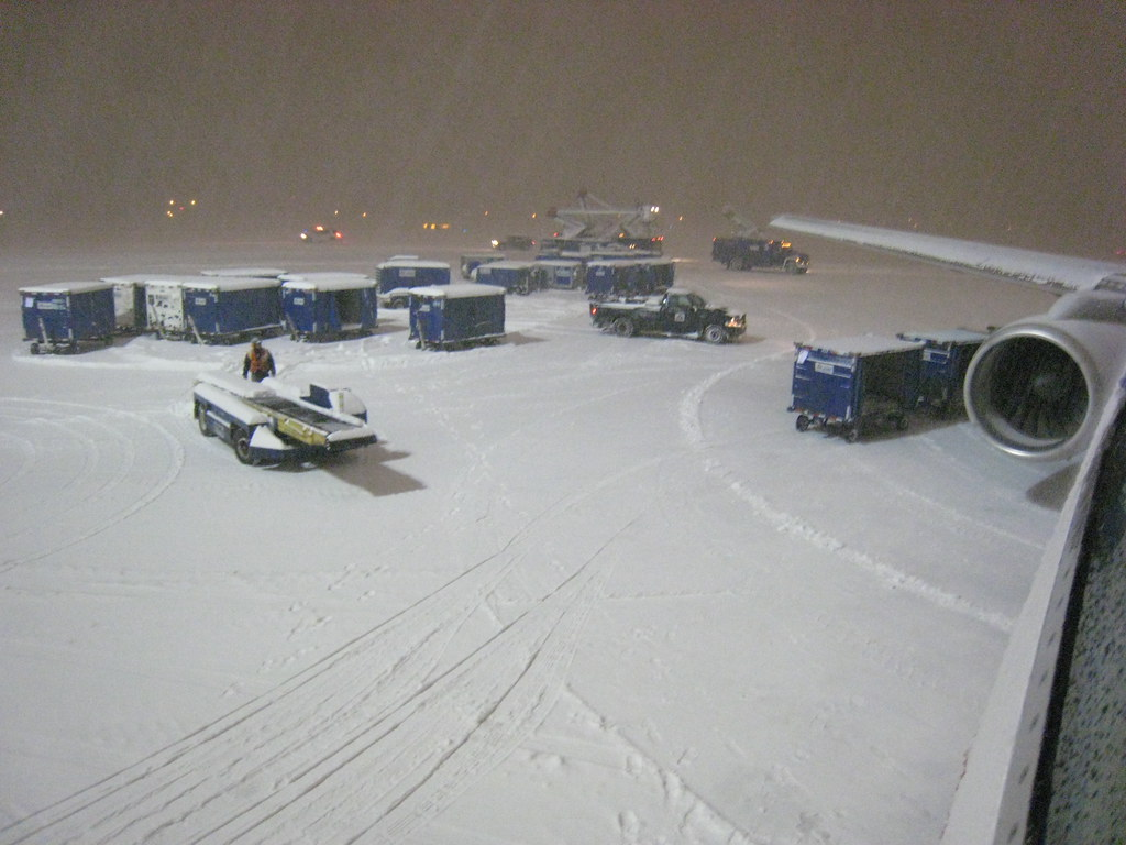 Snow day on the Boston Ramp