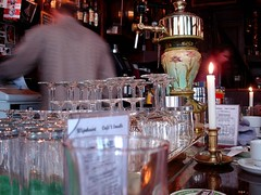 Cafe 't Smalle, Amsterdam, New Year's Day 2008 (melita_dennett) Tags: holland netherlands beer amsterdam bar t cafe pub candle nederland newyear egelantiersgracht smalle
