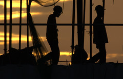 Sunset Workers (Rey Sta. Ana) Tags: wild bird birds wildlife philippines manila rey avian palawan wildbirds mantarey candaba staana