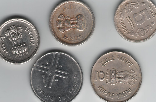 Rupees coins scan