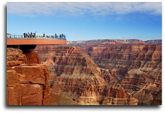 The Skywalk of Grand Canyon (Mr. FRANTaStiK) Tags: arizona terrain usa mountains tourism nature america river landscape scenery rocks view desert plateau grandcanyon nevada cliffs redrocks fabulous glassbridge skywalk wonderoftheworld worldwonder westrim naturesfinest fineartphotos golddragon abigfave platinumphoto superbmasterpiece diamondclassphotographer theunforgettablepictures fongetz francistan worldwidelandscapes globalbackpackers