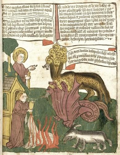 Apokalypse 15th century mss 92r
