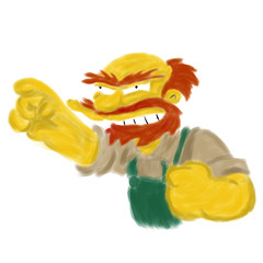 groundskeeper willie 18 of 365