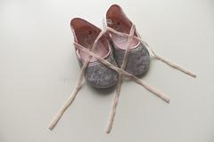 PinK Wings !i (Dalal.Du) Tags: pink baby silver wings shoes strap ban dalal ribon canon400d